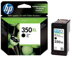 Bild HP No.350 XL Black