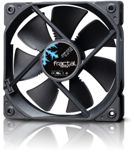 Bild Fractal Design Dynamic X2 GP-12 120mm Svart
