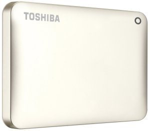 Bild Toshiba Canvio Connect II 2TB USB 3.0 Satin Gold