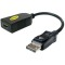 Produktbild Accell DisplayPort till HDMI adapter, 20-pin ha-19-pin ho, 0,1m