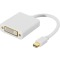 Produktbild Deltaco Mini DisplayPort till DVI-D Single Link adapter