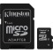 Produktbild Kingston 8GB micro SDHC Class 4 + Adapter
