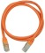 Produktbild Deltaco FTP Cat.6 patchkabel 0.5m, orange