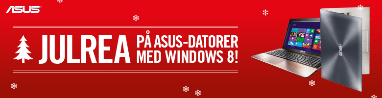 Julrea på ASUS-datorer med Windows 8!