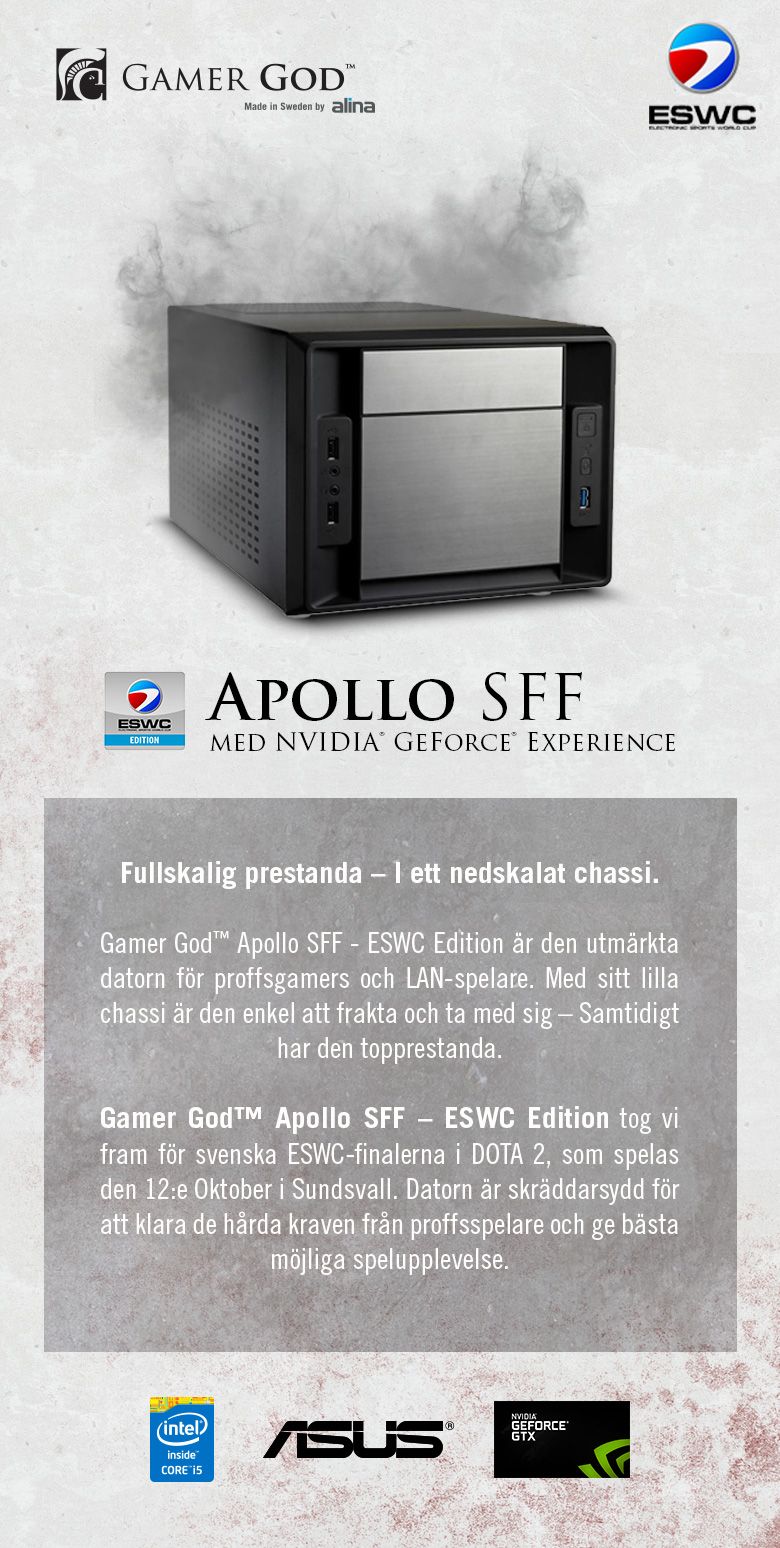 Gamer God Apollo SFF - ESWC Edition