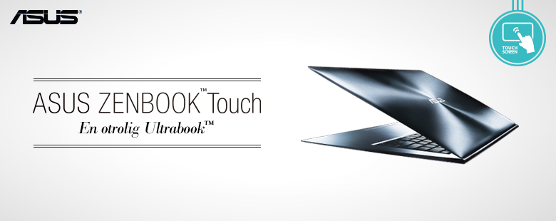 ASUS ZENBOOK™ Touch