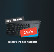 Tangentbord med Touchpad 249 kr
