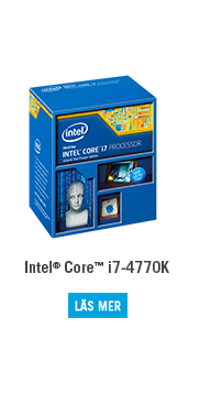 Intel® haswell Core™ i7-4770K