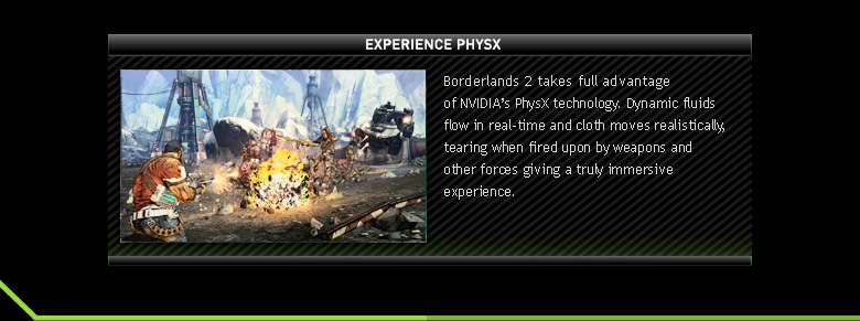 Experience PHYSX