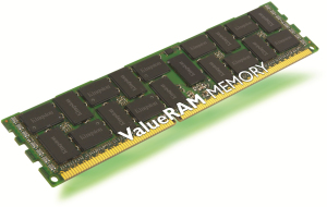 Bild Kingston 16GB 1333MHz DDR3L ECC Reg CL9 DIMM DR x4 1.35V Intel