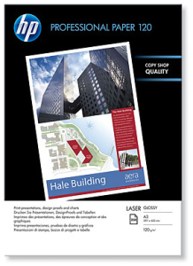 Bild HP A3 Professional Glossy Laser Paper 120gr (250)