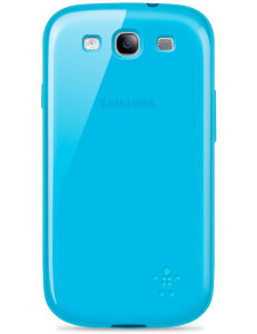 Bild Belkin Grip Sheer Blue - Samsung GALAXY S III