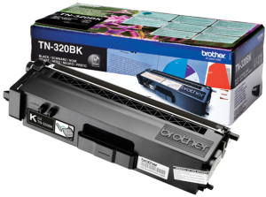 Bild Brother Toner TN-320BK 2.5k Svart