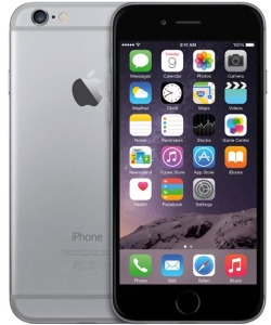 Bild Apple iPhone 6 16GB SpaceGrey - Utbytestelefon