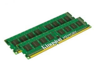 Bild Kingston 8GB RAM kit 2x4GB DDR3 1600MHz Non-ECC DIMM SRx8 CL11
