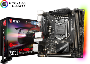 Bild MSI Z370I Gaming PRO Carbon AC - Coffee Lake