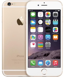 Bild Apple iPhone 6 64GB, olåst, Gold