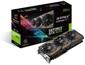Bild ASUS GeForce GTX 1070 ROG STRIX 8GB DirectCU III - Watch Dogs 2 på köpet!