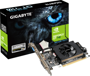 Bild Gigabyte GeForce GT 710 1GB Low Profile