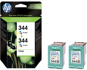 Bild HP No.344 Färg (14ml) 2-Pack
