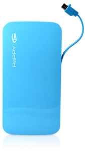 Bild Team Group PePPy PowerBank WP02 5000 mAh - Blå - Halva priset! (Ord pris 149kr)