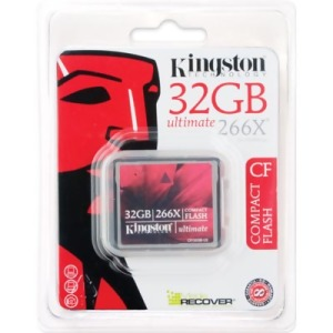 Bild Kingston Compact Flash 32GB 266x