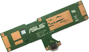 Bild ASUS Nexus 7 (2nd gen) byte av laddkontakt