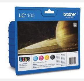 Bild Brother LC1100 Value Pack Multipack bläckpatroner