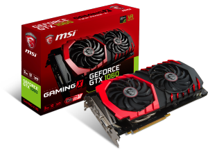 Bild MSI GeForce GTX 1060 GAMING X 3GB TwinFrozr VI