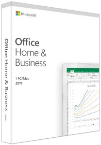 Bild Microsoft Office Home & Business 2019 Svensk - Produktnyckelkort