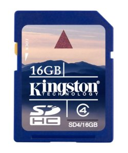 Bild Kingston 16GB SDHC Class 4