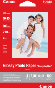 Bild Canon GP-501 Everyday Glossy Fotopapper 100 ark 10x15