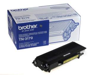 Bild Brother Toner TN-3170 7k Svart
