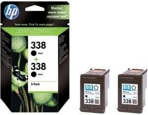 Bild HP No.338 Black (11ml) 2-Pack