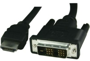 Bild Deltaco HDMI ha - DVI-D Single Link ha, 2m