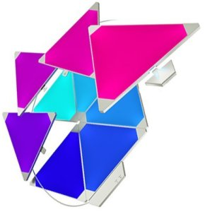 Bild Nanoleaf Light Panels Smarter Kit - Rhythm Edition - 9PK