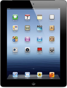 Bild Apple iPad 4 32GB - 4G Svart
