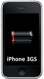 Bild Apple iPhone 3GS Batteribyte