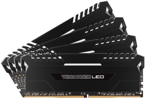 Bild Corsair Vengeance LED 64GB (4 x 16GB) DDR4 2666MHz Stunning White