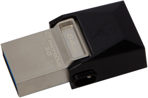 Bild Kingston DataTraveler microDuo 64GB USB 3.0 OTG