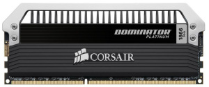 Bild Corsair Dominator Platinum Quad 16GB (4x4GB) 1866MHz CL9