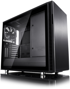 Bild Fractal Design Define R6 TG Blackout - Svart / Transparent