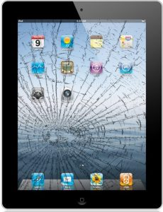 Bild Apple iPad 3/4 Glasbyte - Svart