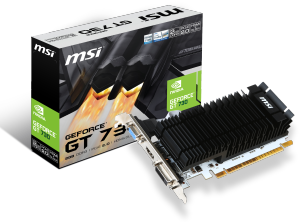 Bild MSI GeForce GT 730 2GB Low Profile