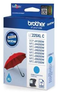 Bild Brother LC225XLC Cyan, 1200 sid.