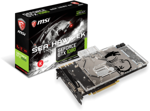 Bild MSI GeForce GTX 1080 Sea Hawk EK X 8GB - Spel på köpet!