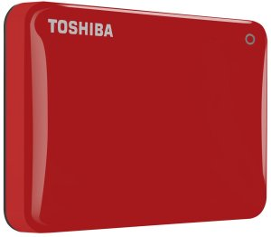 Bild Toshiba Canvio Connect II 2TB USB 3.0 Röd