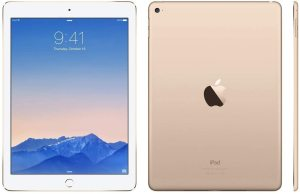 Bild Apple iPad Air 2 - WiFi - 32GB - White/Gold - Grade A
