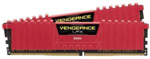 Bild Corsair Vengeance LPX 16GB (2 x 8GB) DDR4 2400MHz CL16 - Red
