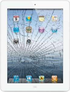 Bild Apple iPad 3/4 Glasbyte - Vit